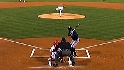 Myers throws 2009&#039;s first pitch