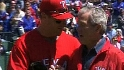 Bush throws out first pitch