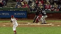 Ibanez's rocket throw