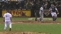 Bell strikes out the side