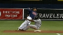 Casilla turns the double play