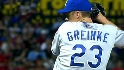 Greinke fans 10 Rangers