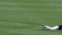 Amezaga's diving catch