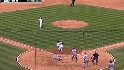 Santiago clears the bases