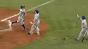 Kinsler&#039;s two-run roundtripper