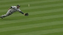 Balentien's acrobatic play
