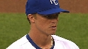 Greinke strikes out 10