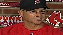 Francona reacts to Manny news