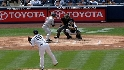 Jeter&#039;s quick grab and toss