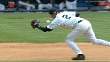 Jeter spins and throws