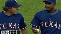 Kinsler starts a triple play