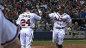 Braves' nine-run fourth
