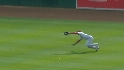 Upton's diving catch