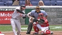 Markakis's two-run triple