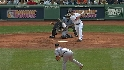 Lowell&#039;s three-run shot
