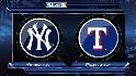 Recap: NYY 3, TEX 7