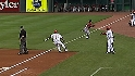 Taveras creates a run