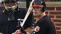 Wieters' first at-bat