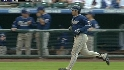 A. Gonzalez&#039;s three-run smash