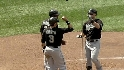 Hermida's three-run homer