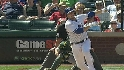 Saltalamacchia's two-run double