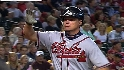 Chipper's four-RBI game
