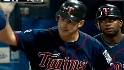 Mauer&#039;s two-run shot