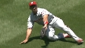 Ibanez&#039;s diving catch