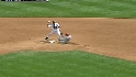 Zumaya induces the double play