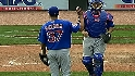 Guzman saves game for the Cubs