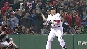 Pedroia&#039;s 10-pitch walk