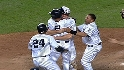 Yanks walk off against Mets