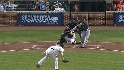 Francoeur's two-run double