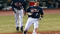 Mauer&#039;s four hits