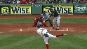 Hanley scores on Ellsbury error