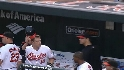Wieters' first career homer