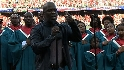 Winans sings the national anthem