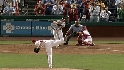 Roberts&#039; two-run homer