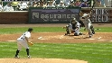 Sanchez&#039;s two-run shot
