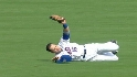 Beltran's sliding catch