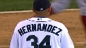 Hernandez fans eight