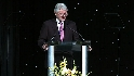 Clinton at Beacon Awards: Part 1