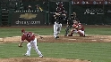 Hawpe's three-run homer