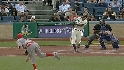Morgan's two-run crank