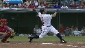 Garko&#039;s two-run homer