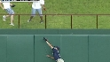 Hairston&#039;s catch at the wall