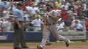 Varitek's RBI single