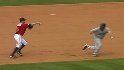 Youkilis' heads-up baserunning