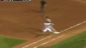 Sandoval&#039;s strong throw