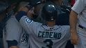 Cedeno's two-run jack
